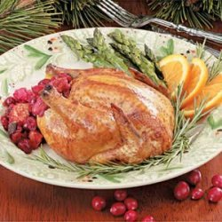 Cornish Hens with Cranberry Stuffing
