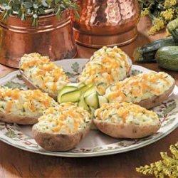 Zucchini Twice-Baked Potatoes