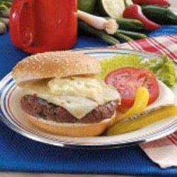 Ground Venison Burgers