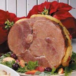 Ham with Peach Glaze