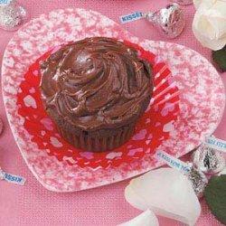 Secret Kiss Cupcakes