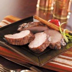 Cinnamon Pork Tenderloin