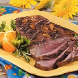 Grilled Citrus Steak recipe