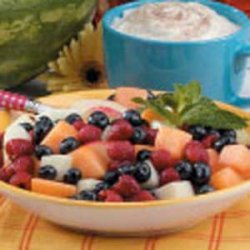 Cinnamon-Basil Fruit Salad