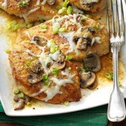 Baked Mushroom Chicken