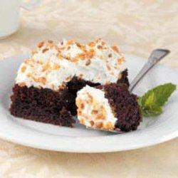 Caramel Crunch Cake