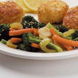Sesame Steamed Vegetables