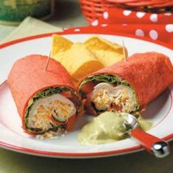 Guacamole Chicken Roll-Ups