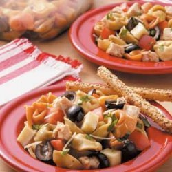 Tortellini Chicken Salad