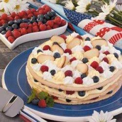 Berry Cookie Torte