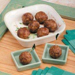 Meatballs in Apple Butter