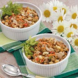Clam Stuffing Bake