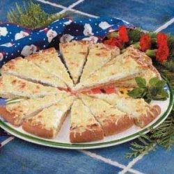 Appetizer Crab Pizza
