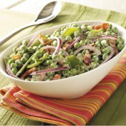 Festive Pea Salad