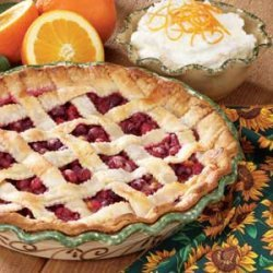 Citrus Cranberry Pie