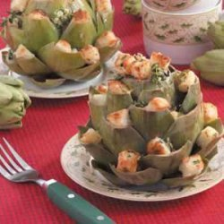 Easy Stuffed Artichokes