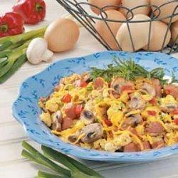 Veggie Ham 'n' Eggs