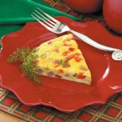 Oven -Baked Western Omelet