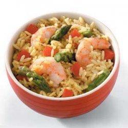 Caribbean Rice 'n' Shrimp