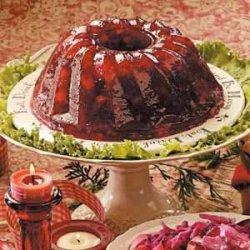 Cranberry Gelatin Mold