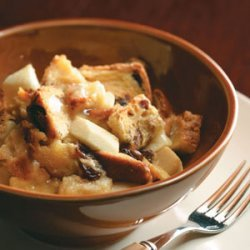 Apple-Raisin Bread Pudding