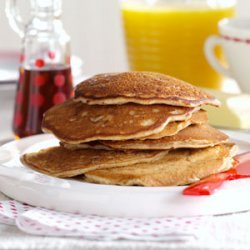 Pecan Apple Pancakes