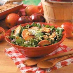 Grilled Apple Tossed Salad