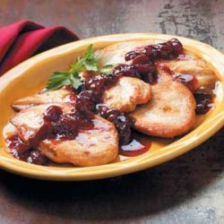 Cherry-Topped Chicken