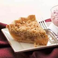 Cinnamon Apple Crumb Pie