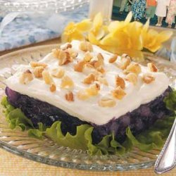 Creamy Blueberry Gelatin Salad