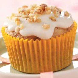 Walnut Banana Cupcakes