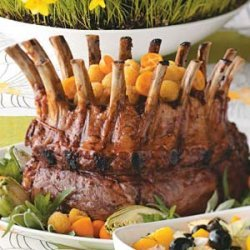 Glazed Pork Crown Roast