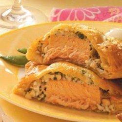 Seafood en Croute