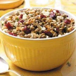 Feta-Cranberry Lentil Salad