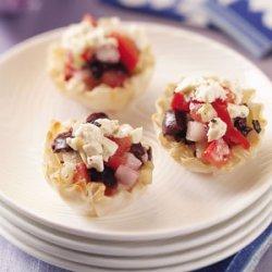 Greek Veggie Tartlets