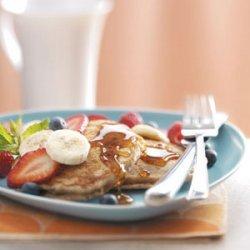 Honey Wheat Pancakes