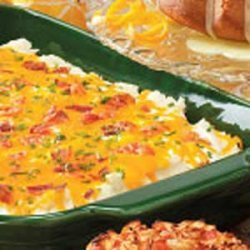Everything  Mashed Potato Casserole