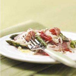 Salami Asparagus Salad