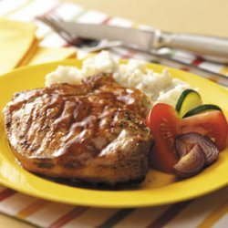 Barbecued Pork Chops recipe