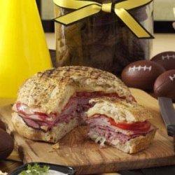 Focaccia Party Sandwich