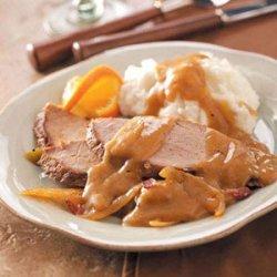 Pork Roast with Twist of Orange