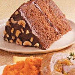 Hazelnut Cocoa Cake