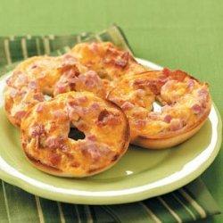 Ham & Cheese Pizza Snacks recipe