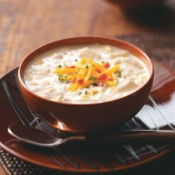 Jazzed-Up Clam Chowder recipe
