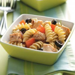 Balsamic Chicken Pasta