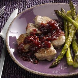 Pork Medallions with Cranberry Sauce