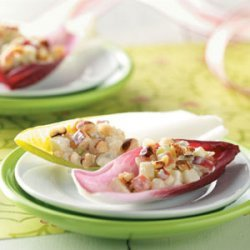 Apple & Blue Cheese on Endive