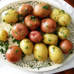 Parsleyed Steamed Potatoes