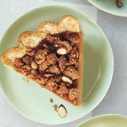 Amaretto-Almond Streusel Pumpkin Pie