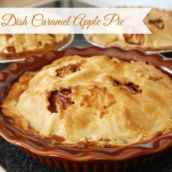 Deep-Dish Caramel Apple Pie